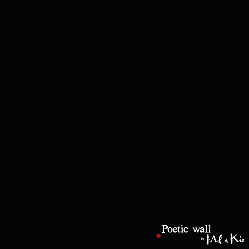 Poetic wall - Nuancier