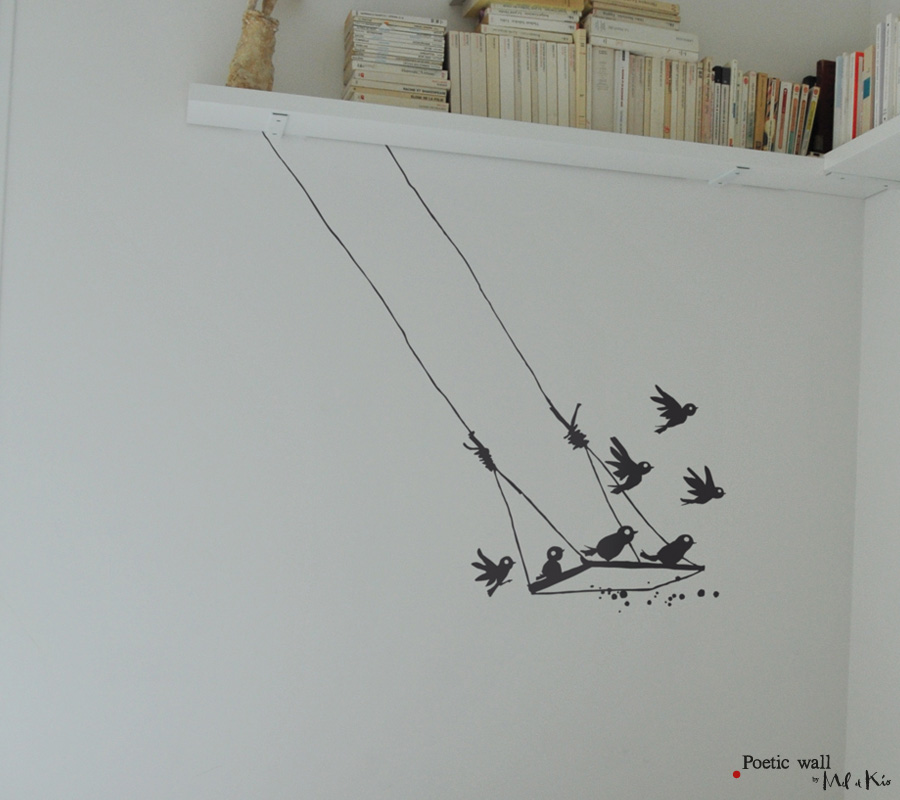 Poetic Wall Stickers Dessin La Balan 231 Oire 171 Poetic Wall