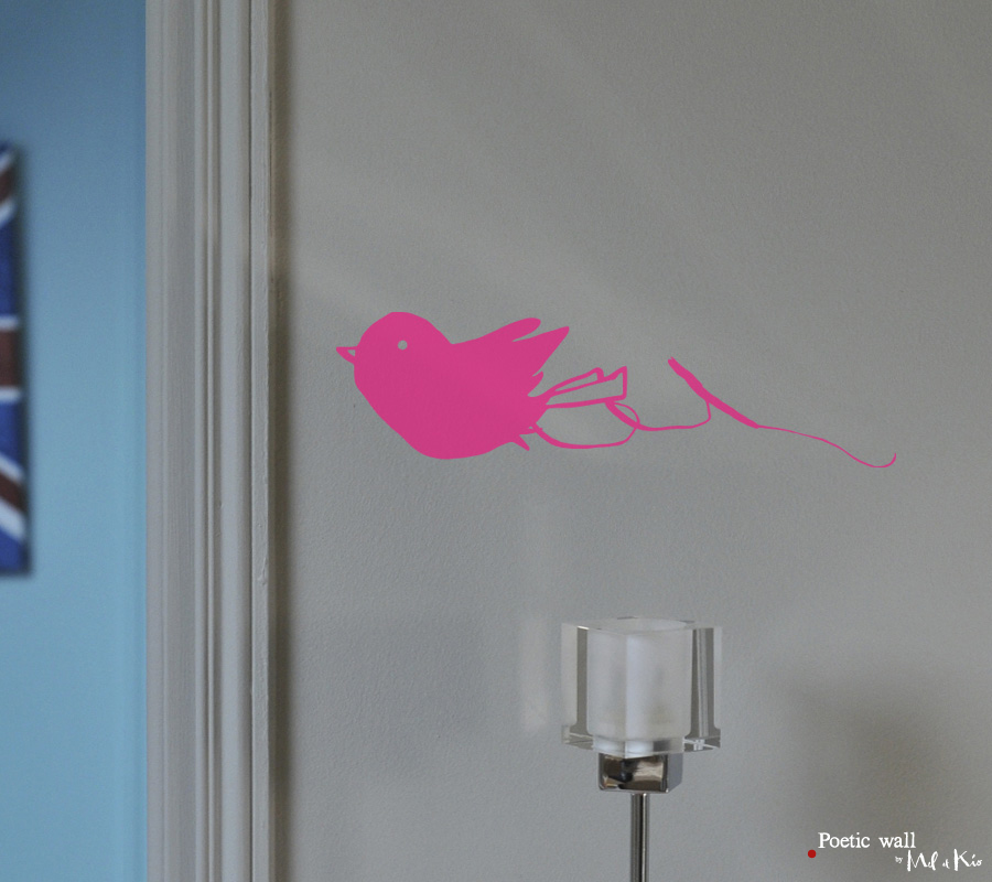 poetic wall ® nuancier : fuschia