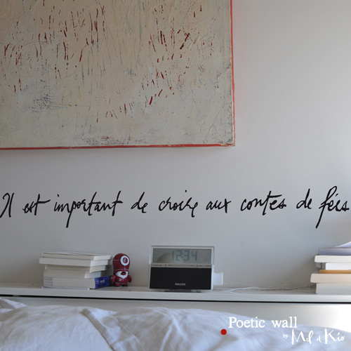 poetic wall ® stickers sticker : Conte de fées