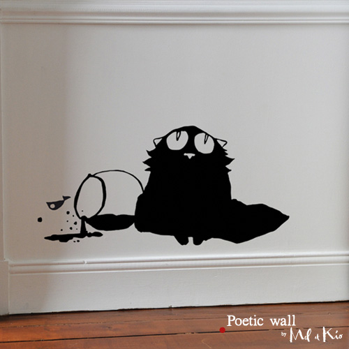 Poetic wall - stickers, stickers - Innocent