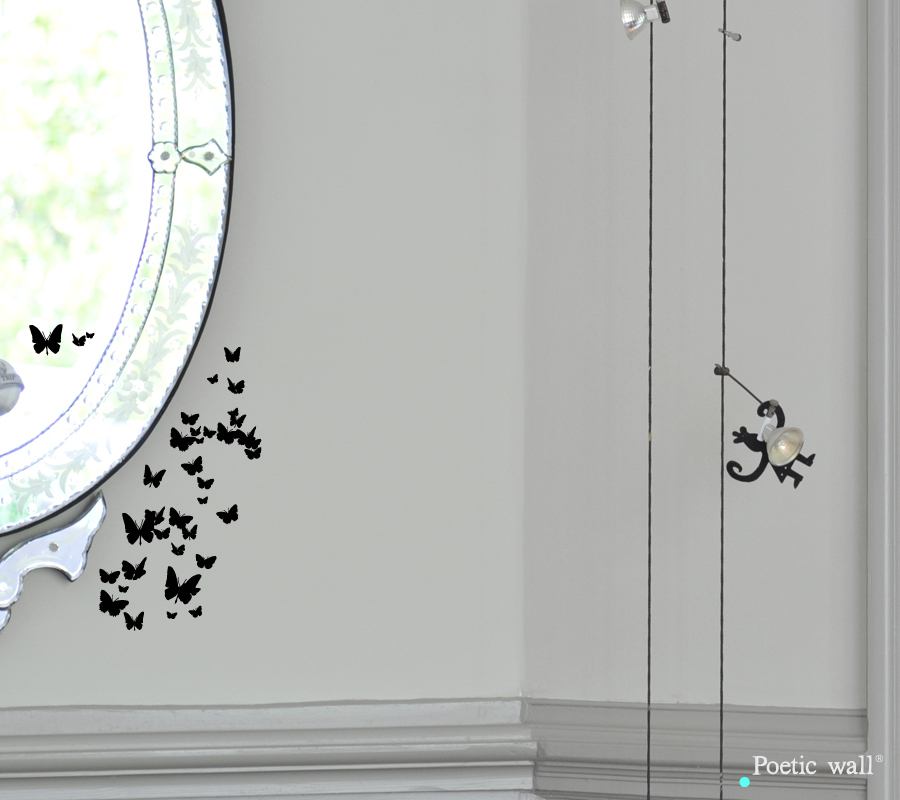 Poetic wall - Stickettes & Billets doux - Petites ailes