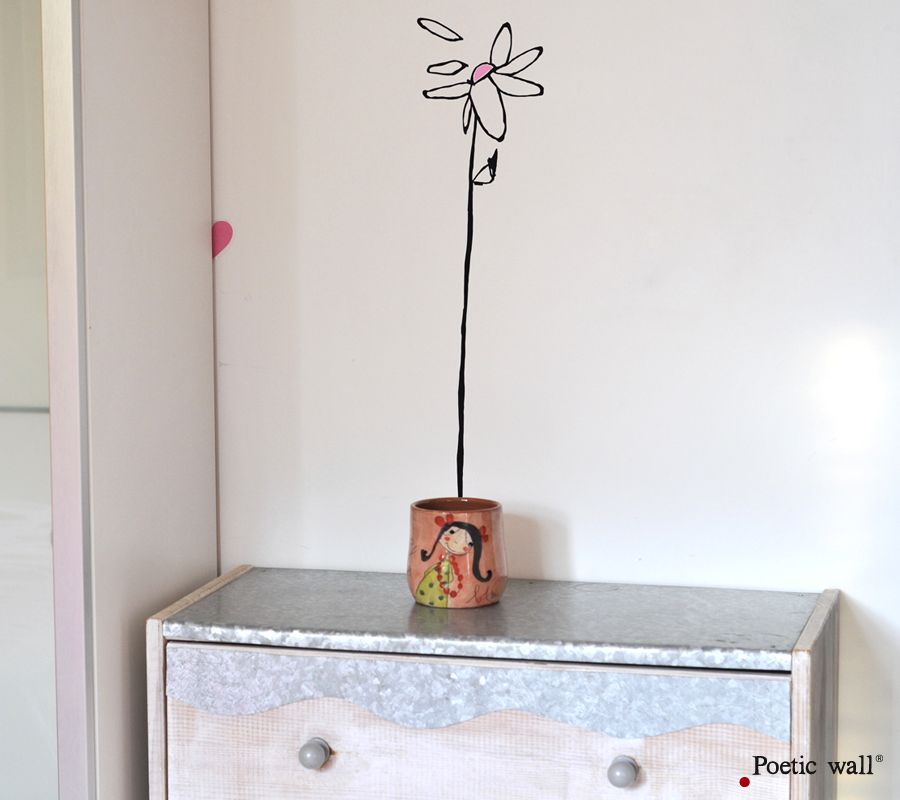 Poetic wall - Stickettes & Billets doux - Lola