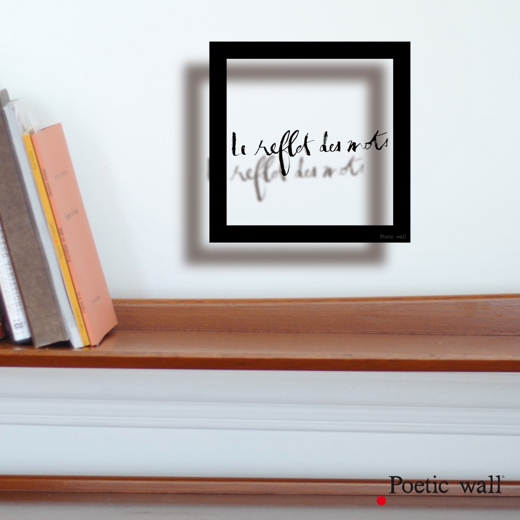 poeticwall-sticker-cadre-ombre-le-reflet-des-mots