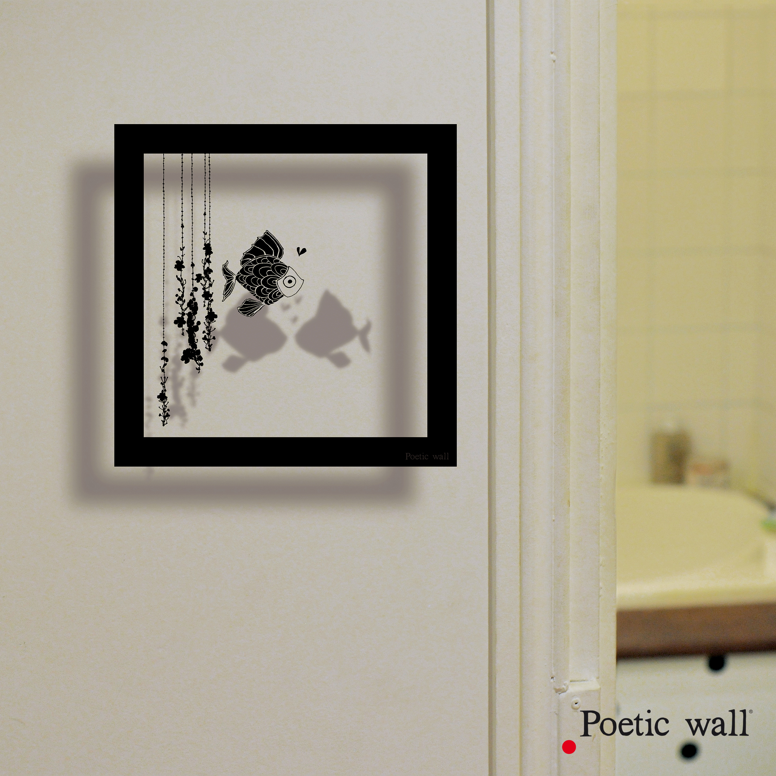 poeticwall-sticker-cadre-ombre-poisson
