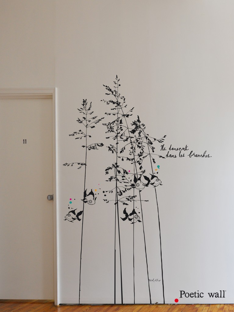 poeticwall-sticker-xxl-murmures-des-poissons-dans-les-branches