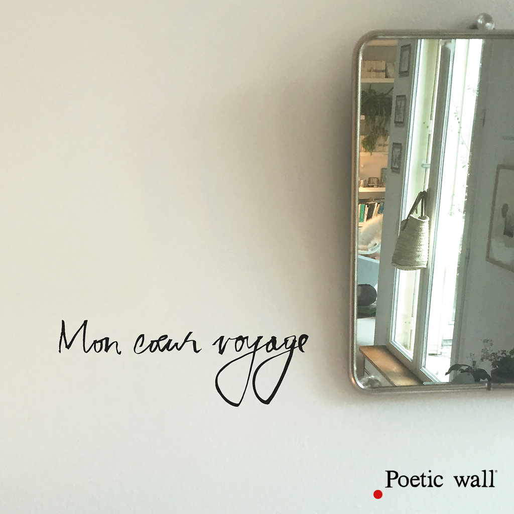 sticker-citation-poetic-wall-mon-coeur-voyage