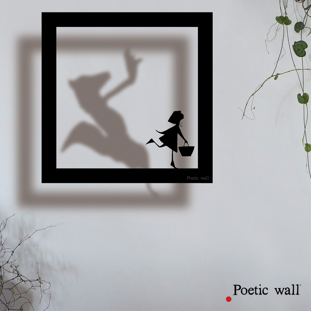 poeticwall-stickers-cadre-ombre-petit-chaperon