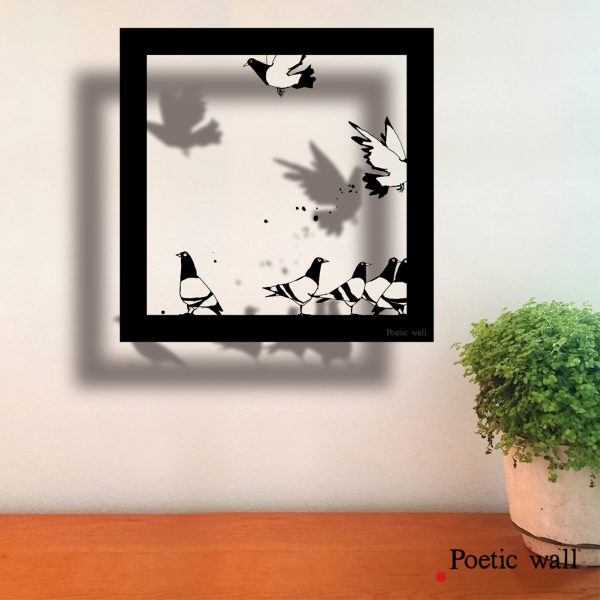 stickers-poeticwall-cadre-ombre-pigeons