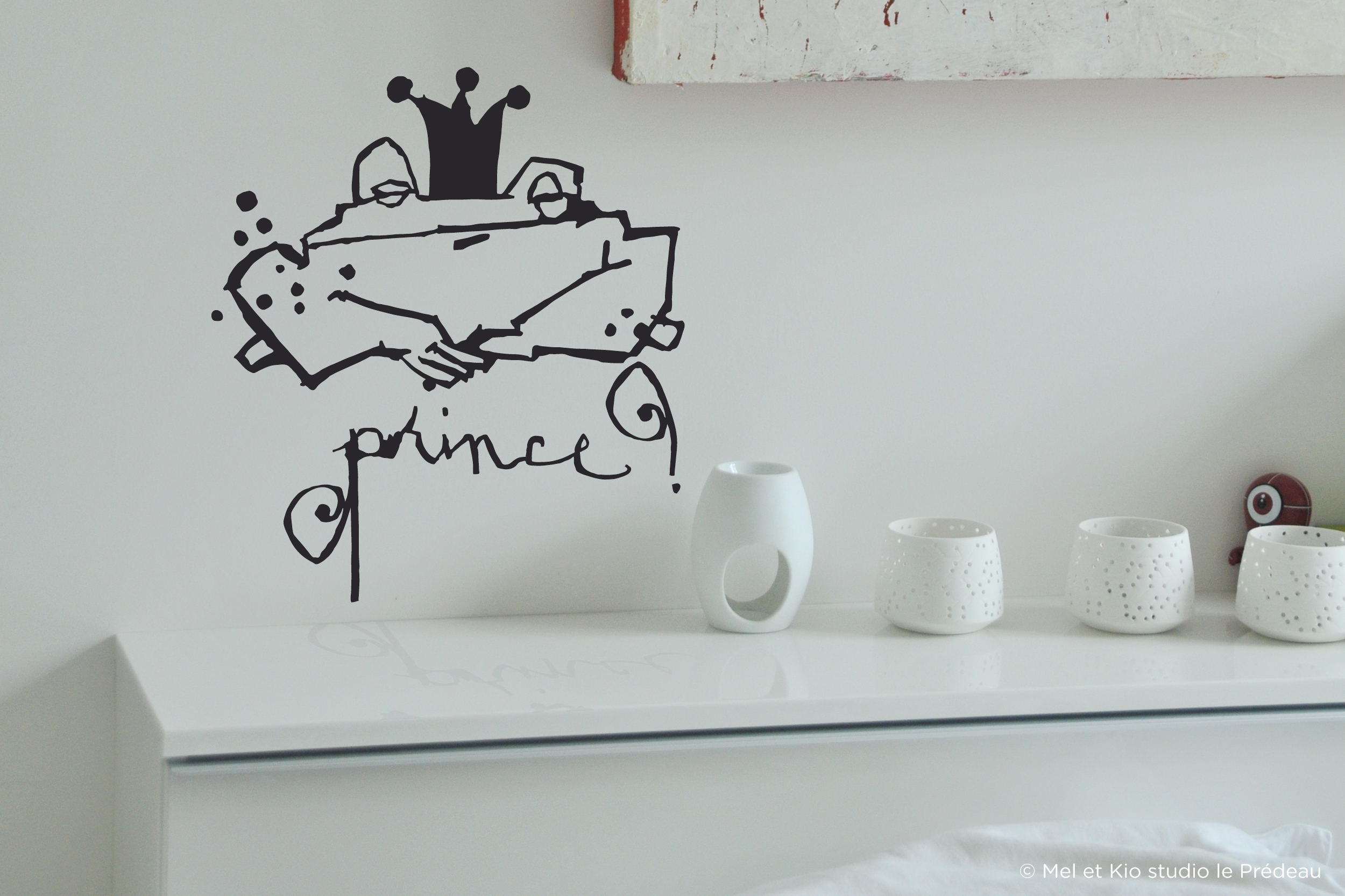 Poetic wall - Sticker - Prince