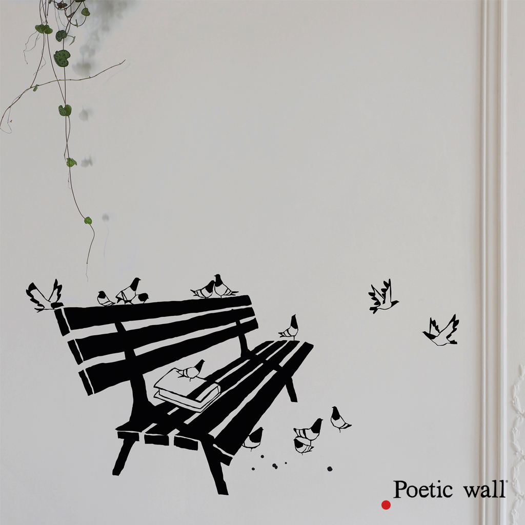 sticker-poetic-wall-le-banc