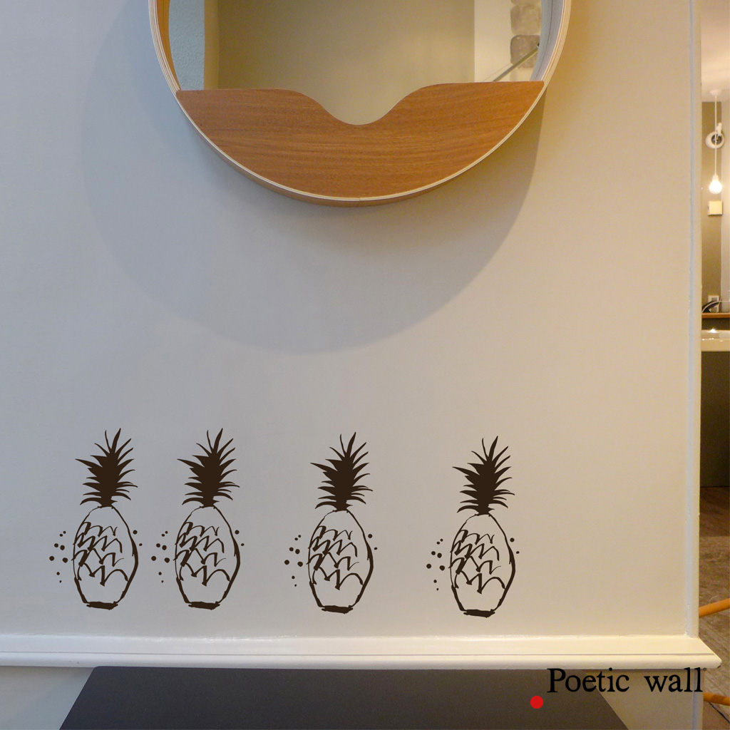sticker-poetic-wall-petits-ananas