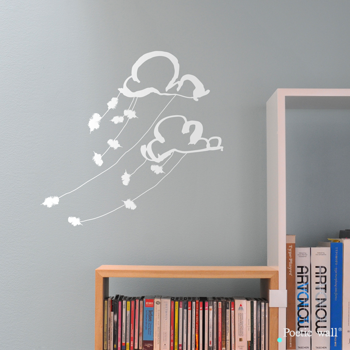 stickers-poetic-wall-dans-les-nuages-blanc