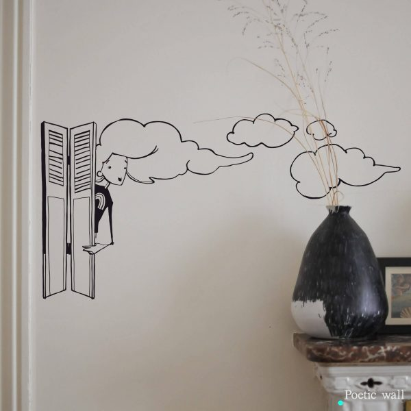 Stickers NANANUAGE persienne by Poetic Wall