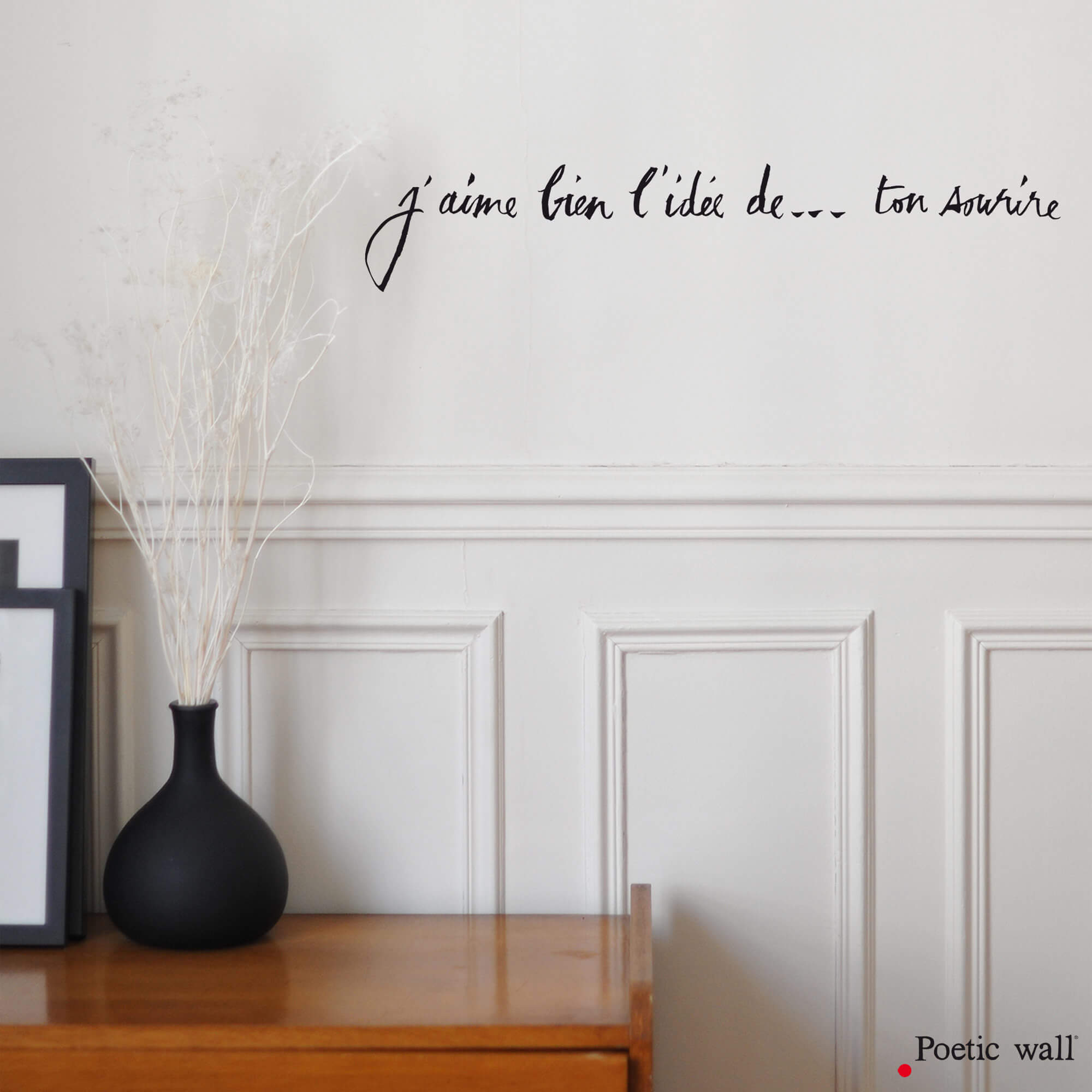 stickers-j-aime-bien-l-idee-de-ton-sourire-poetic-wall-stickers