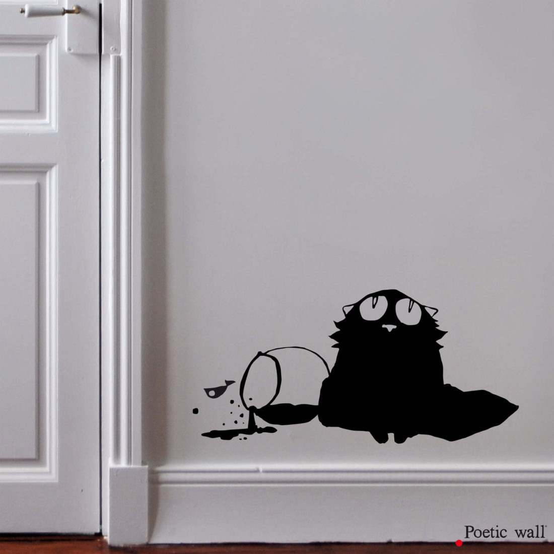 stickers dessin chat by Poetic Wall innocent