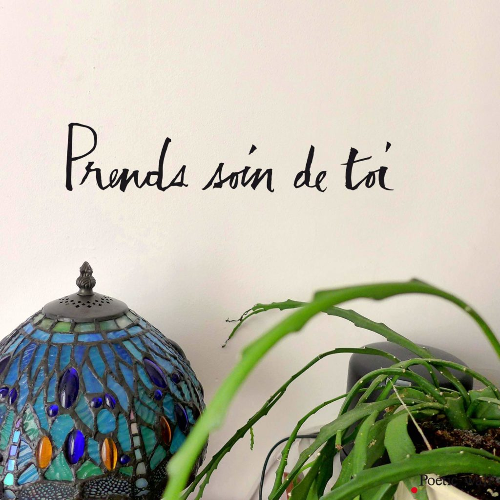 stickers texte poétique by Poetic Wall