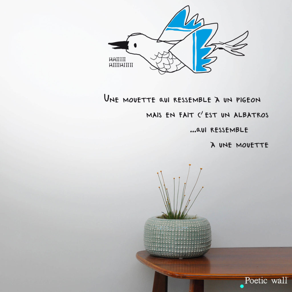 stickers-le-sosie-de-la-mouette-poetic-wall